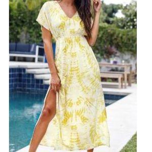 BNWT- Tie dye maxi dress / coverup